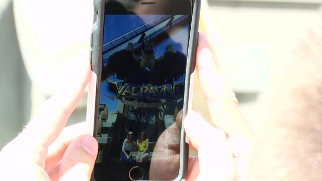 'Battle for 'Cedar Point' AR Experience