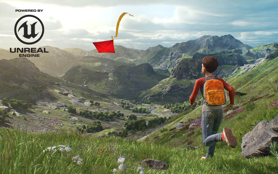 Open World Created by Unreal Engine Game Development