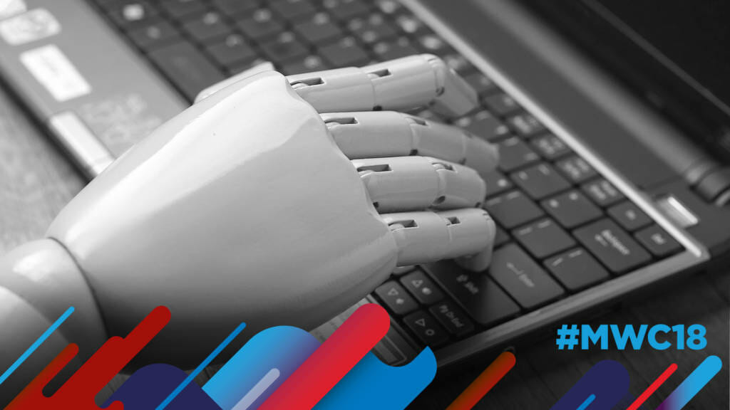 Artificial hand using computer keyboard