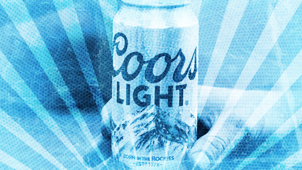 AList share Coors Light marketing campaign