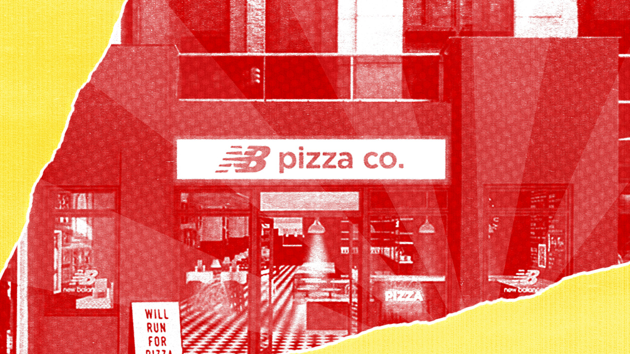 New Balance Creates Pop Up Pizzeria For New York City